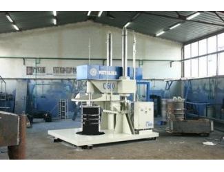 Вибропресс для производства бетонных колец С-600