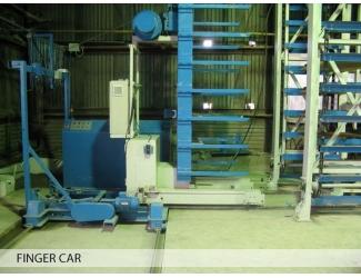 Автоматический погрузчик (finger car)