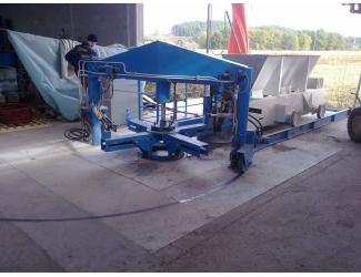 Линия по производству  бетонных колец С-1200